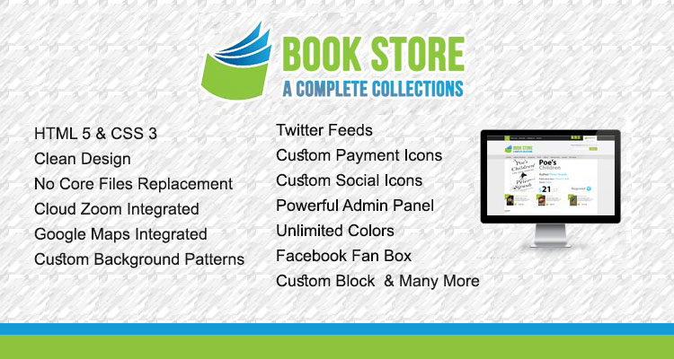 Bookstore Opencart Theme