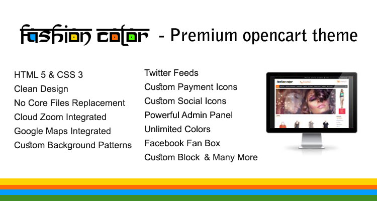 Fashion Color Opencart Theme