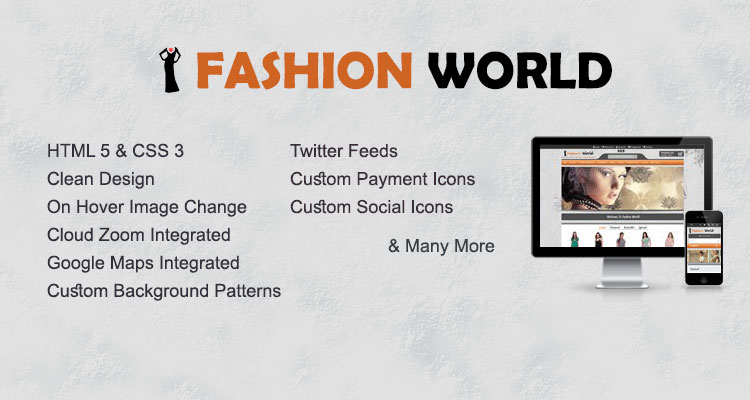 Fashion World Opencart Theme