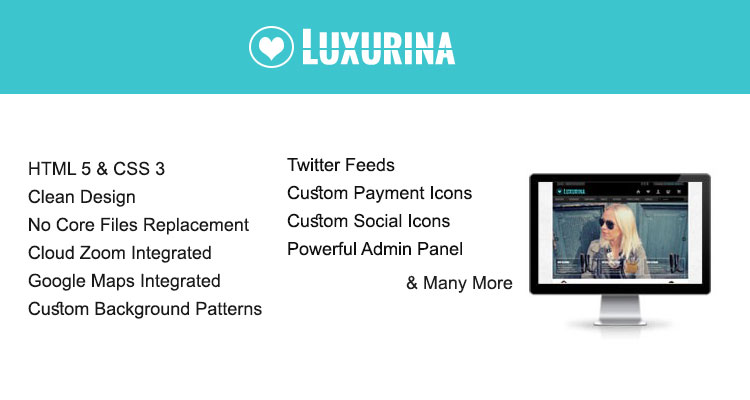 Luxurina Opencart Theme