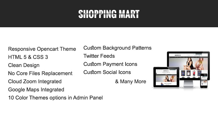 Shoppingmart Opencart Theme