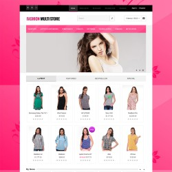 Fashion Multistore Responisve - Opencart Theme 2.1.0.1