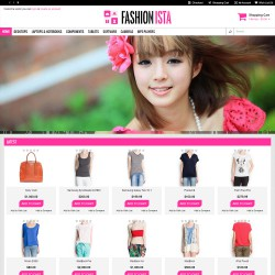 Fashionista Theme Opencart 1.5.5.1,1.5.6 & 1.5.6.1