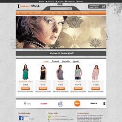 Fashion World - Opencart Theme 2.0.3.1